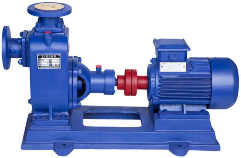 「自吸泵」ZX卧式自吸离心泵