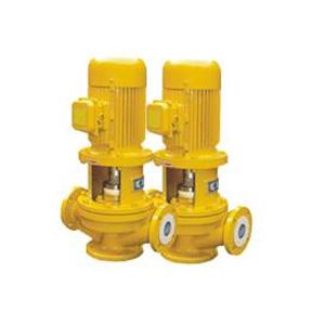 GBF衬氟立式管道离心泵